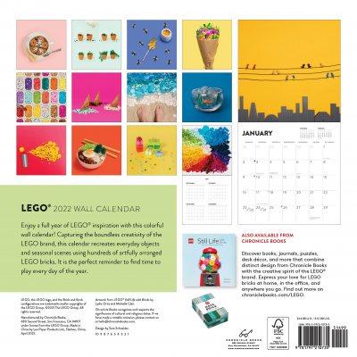 2022 LEGO (R) Wall Calendar (Calendar)