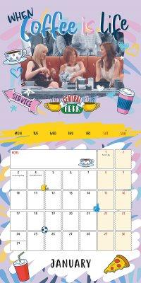 Friends Wall Calendar 2022 (Calendar)