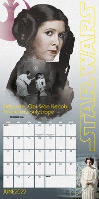 Star Wars Wall Calendar 2022 (Calendar)