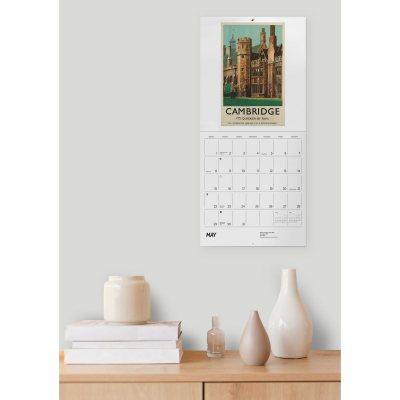 2022 England By Rail Wall Calendar (Calendar)