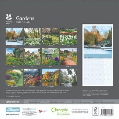 2022 National Trust Seasons Wall Calendar (Calendar)