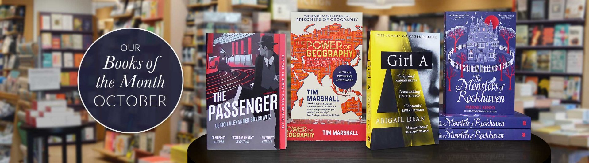Our October Books of the Month