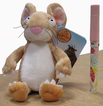 """Gruffalo Mouse Plush Toy 5"""""""