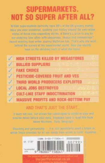 Shopped: The Shocking Power of British Supermarkets (Paperback)