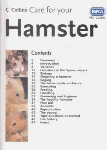 RSPCA: Care For Your Hamster (Paperback)