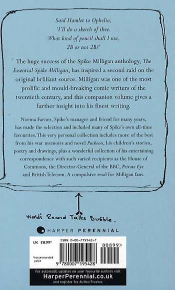 The Compulsive Spike Milligan (Paperback)