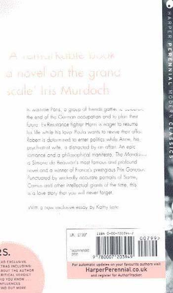 The Mandarins - Harper Perennial Modern Classics (Paperback)