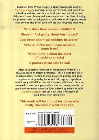 The Savvy Shopper (Paperback)