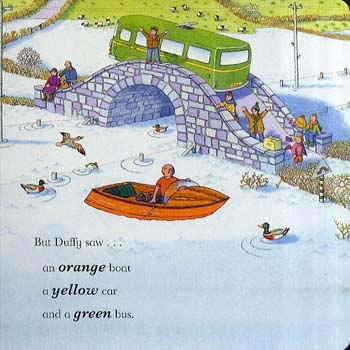 Blue Sky Ahead for the Little Red Train: An Adventure with Colours (Hardback)