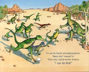 Dinosaur Chase! (Hardback)