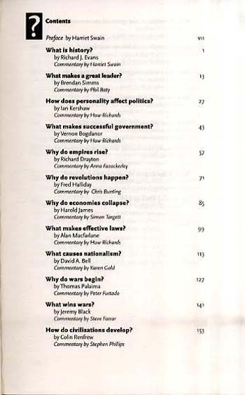 Big Questions In History (Paperback)