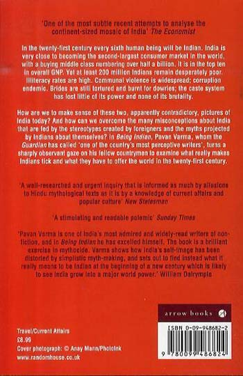 Being Indian: Inside the Real India (Paperback)