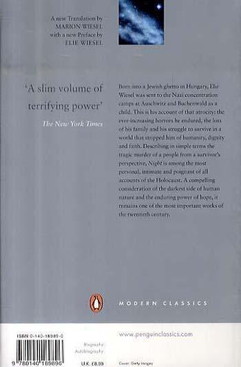 Night - Penguin Modern Classics (Paperback)