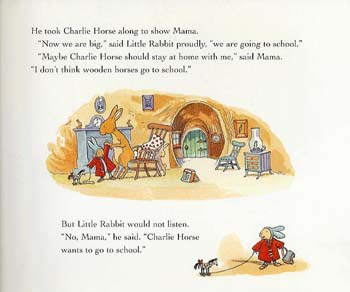 Little Rabbit Goes to School (Paperback)
