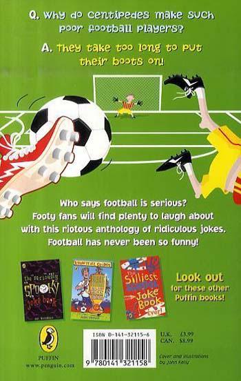 Fantastically Funny Football Joke Book (Paperback)