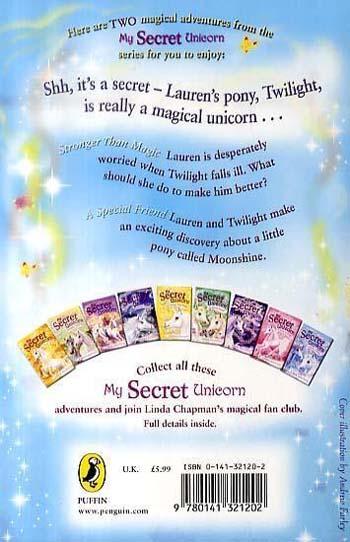 My Secret Unicorn: Stronger Than Magic and a Special Friend - My Secret Unicorn (Paperback)