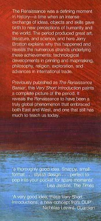 The Renaissance: A Very Short Introduction - Very Short Introductions (Paperback)