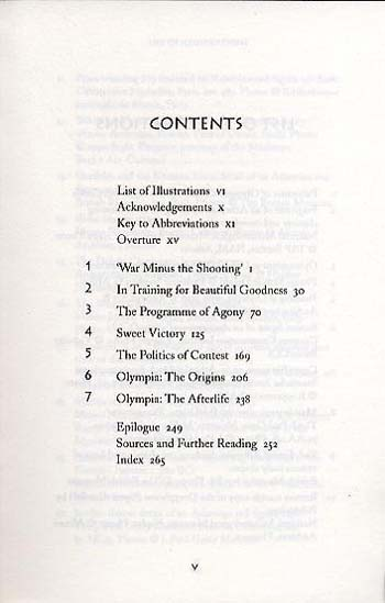 The Ancient Olympics: War Minus the Shooting (Paperback)