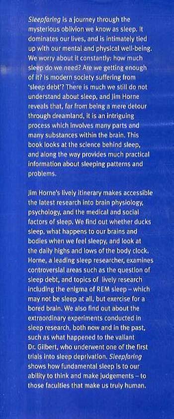 Sleepfaring: A journey through the science of sleep (Hardback)