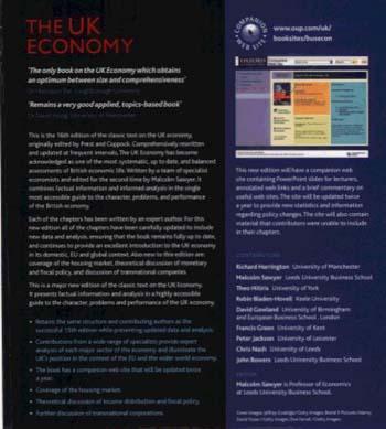 The UK Economy (Paperback)