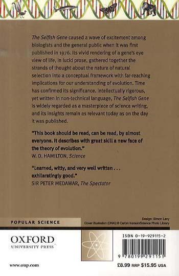 The Selfish Gene: 30th Anniversary edition (Paperback)