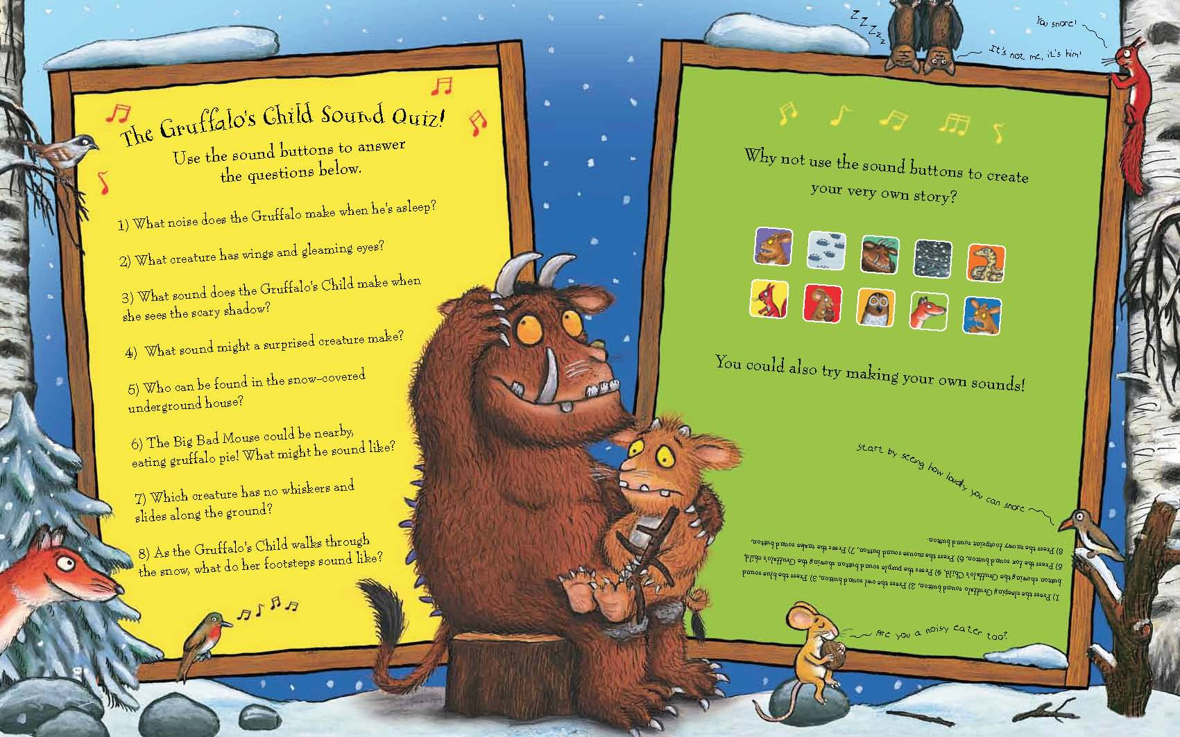 The Gruffalo's Child Sound Book (Big book)