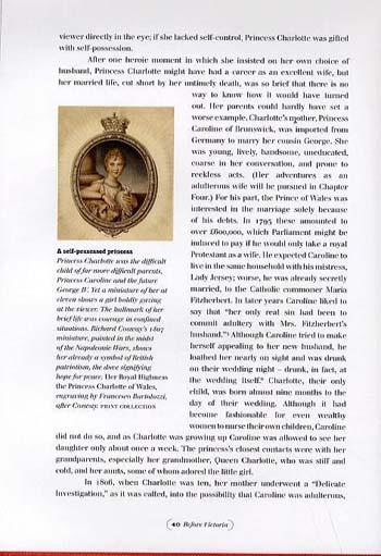 Before Victoria: Extraordinary Women of the British Romantic Era (Hardback)