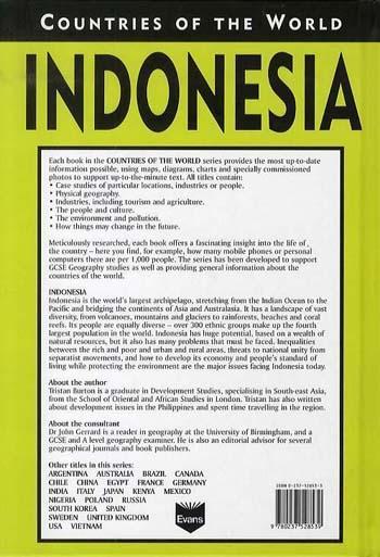 Indonesia - Countries of the World (Hardback)