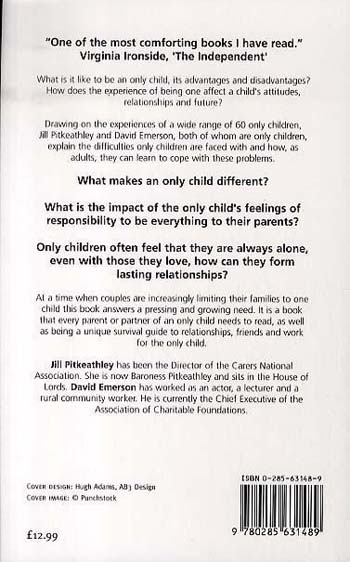 The Only Child: How to Survive Being One (Paperback)