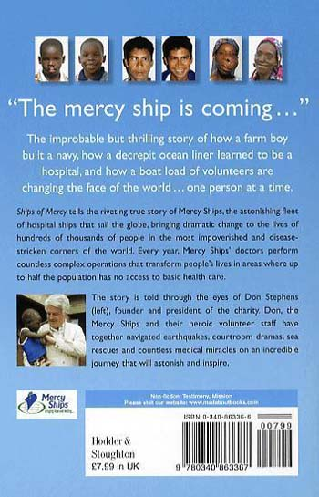 Ships of Mercy: The Astonishing Fleet Bringing Hope to the World's Forgotten Poor (Paperback)