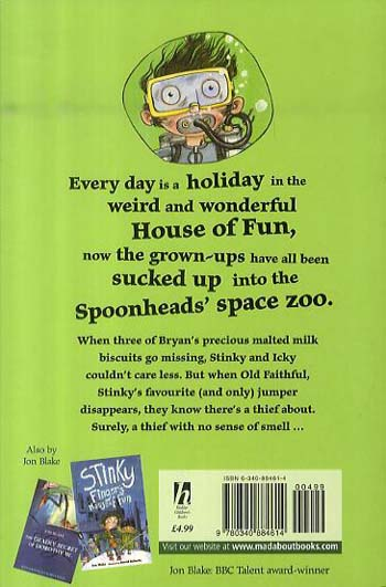 Mystery Guest at the House of Fun - Stinky Finger 6 (Paperback)