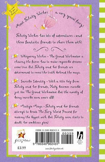 Felicity Wishes: Whispering Wishes - Felicity Wishes (Paperback)