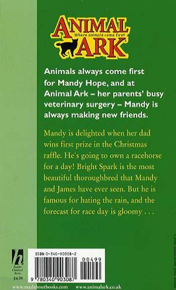 Racehorse in the Rain - Animal Ark No. 2 (Paperback)