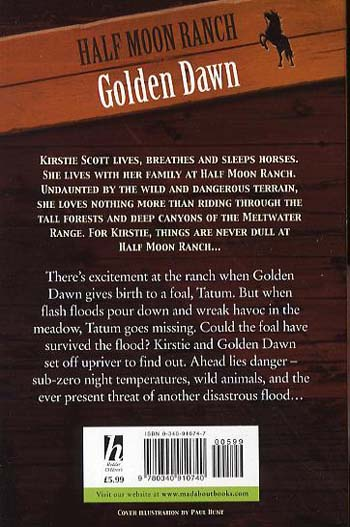 Horses of Half Moon Ranch: Golden Dawn: Book 12 - Horses of Half Moon Ranch (Paperback)