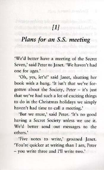 The Secret Seven - Secret Seven 1 (Paperback)
