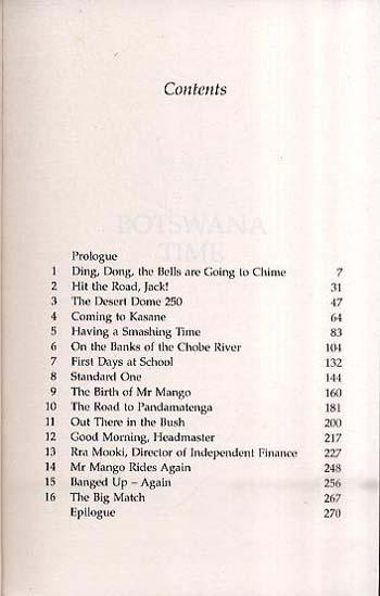 Botswana Time (Paperback)