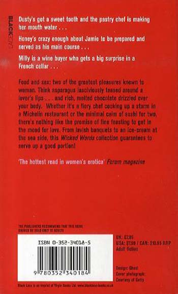 Wicked Words: Sex In The Kitchen (Paperback)