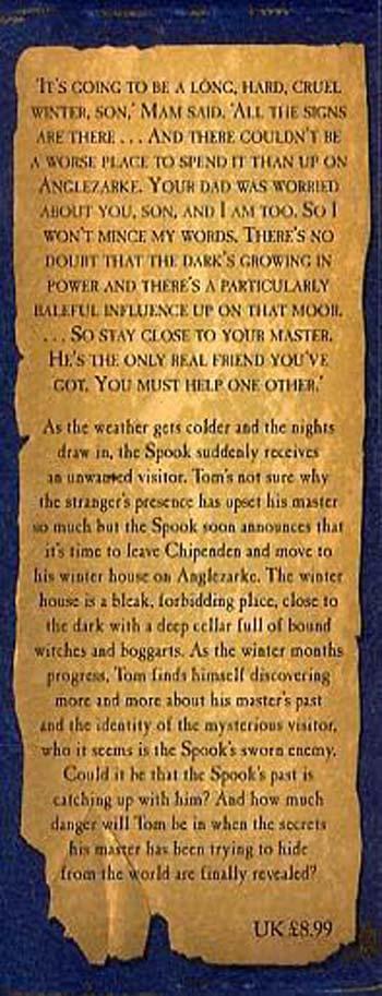 The Spook's Secret: Book 3 - The Wardstone Chronicles 3 (Hardback)