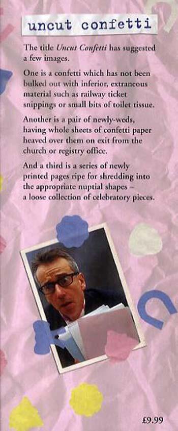 Uncut Confetti: A Loose Collection of Celebratory Pieces (Hardback)