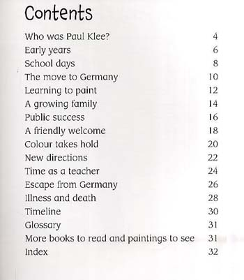 Paul Klee - First Library: The Life and Work of . . . (Hardback)