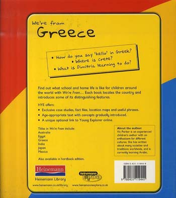 Greece - Young Explorer: We're from... (Paperback)
