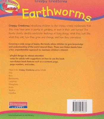 Worm - Little Nippers: Creepy Creatures S. (Paperback)