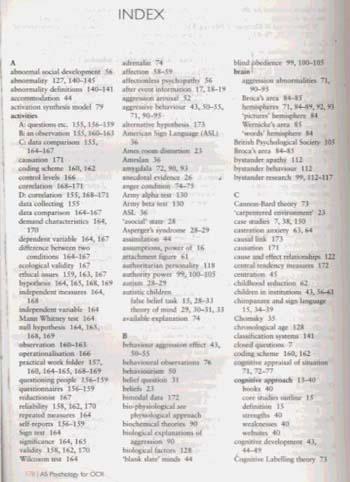 Heinemann Psychology for OCR AS Student Book with CD-ROM - Heinemann Psychology