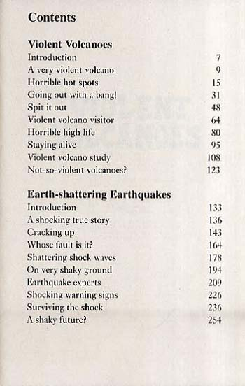 Earth-shattering Earthquakes: AND Violent Volcanoes: Two Horrible Books in One - Horrible Geography (Paperback)