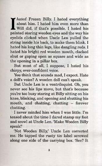 Frozen Billy (Paperback)