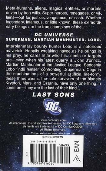 DC Universe: Last Sons - DC Universe 1 (Paperback)