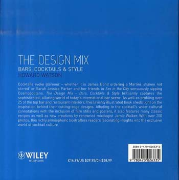 The Design Mix: Bars, Cocktails and Style (Hardback)