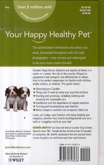 Cavalier King Charles Spaniel - Happy Healthy Pet (Hardback)