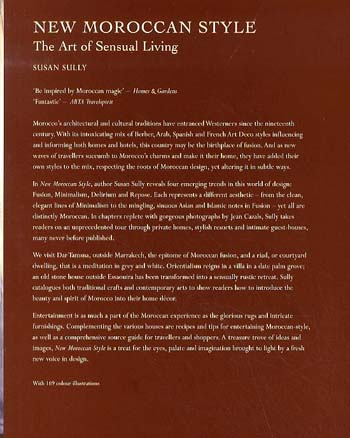 New Moroccan Style: The Art of Sensual Living (Paperback)