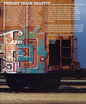 Freight Train Graffiti (Paperback)